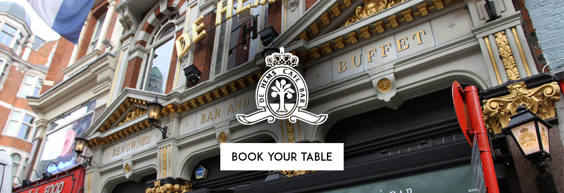 Book Your Table De Hems Dutch Cafe Bar